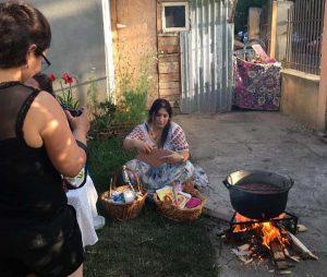 vrajitoarea florica la ritual