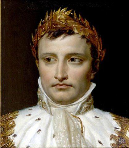 Napoléon-téte-couronnée-Jacques-Louis-David
